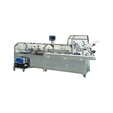 PP-300 Automatic Horizontal End Load Cartoner with Hot Melt Glue System