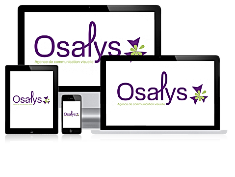 creation site intenet Osalys agence de communication aix en provence