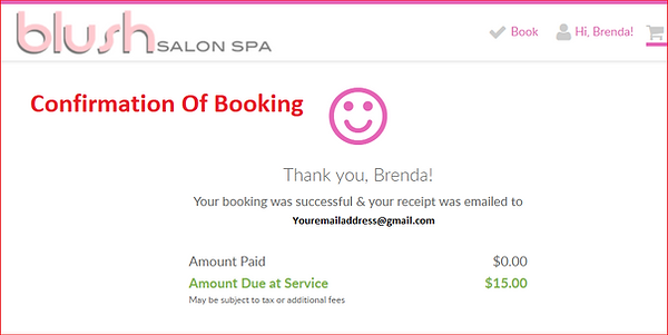 Online Booking 2