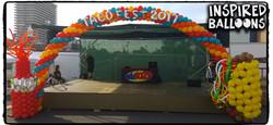 Taco Fest Balloon Arch