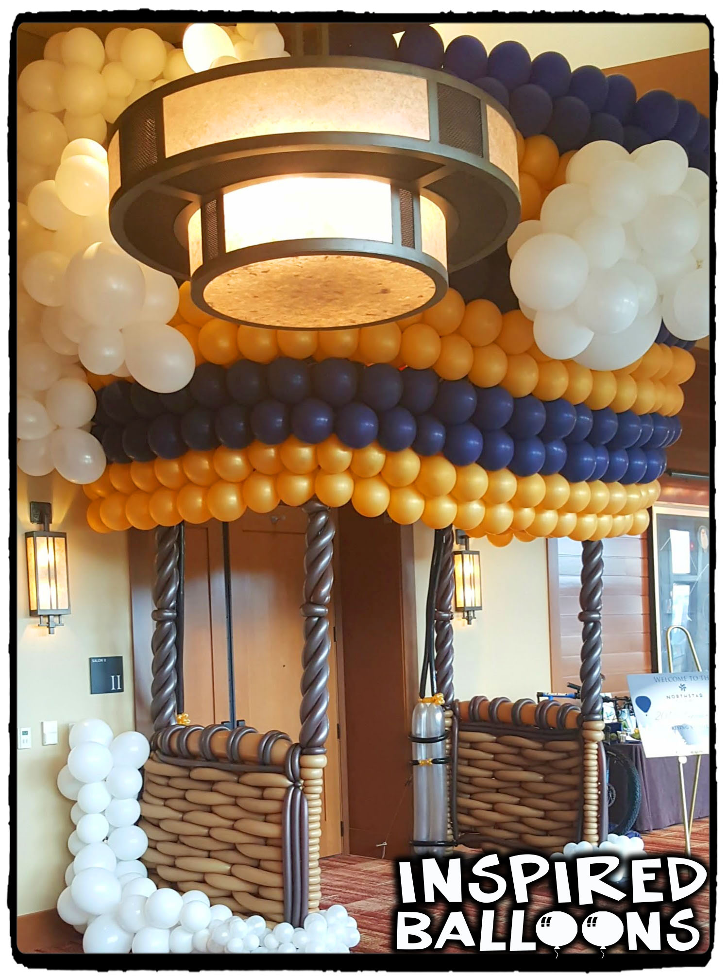 Ritz Hot Air Balloon Entryway