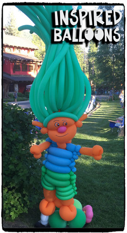 Trolls Ballon Art