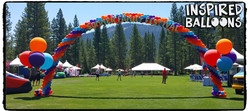 Summer Festival Balloon Decor