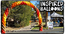 Fall Themed Balloon Arch