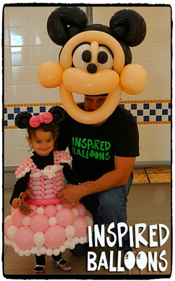 Minnie & Mikey Halloween