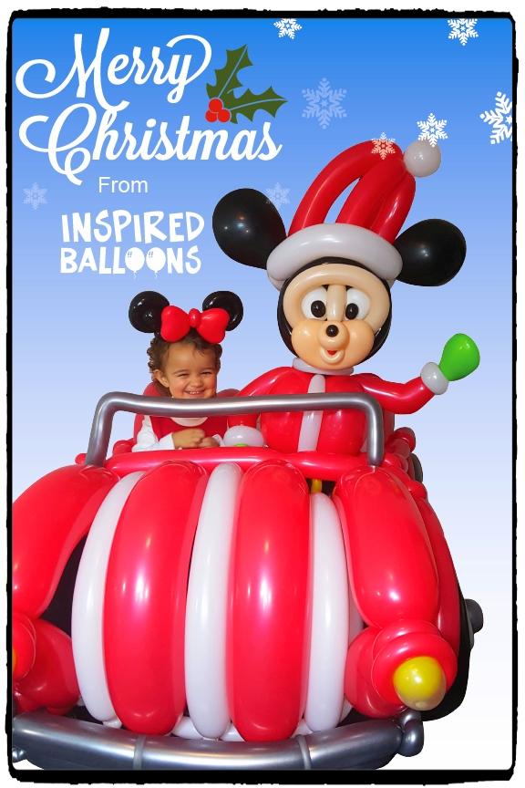 Lily-Mickey-Car