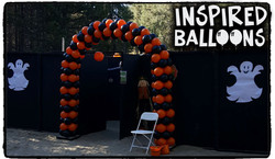 Halloween Balloon Arch