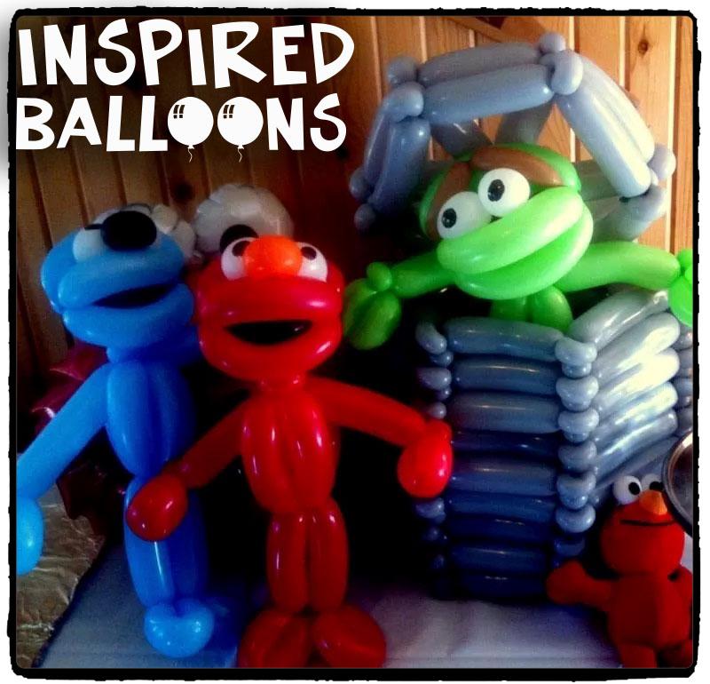 Elmo, Oscar, & Grover