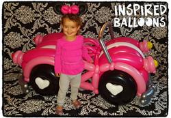 Minnie Mouse Balloon Car Costume