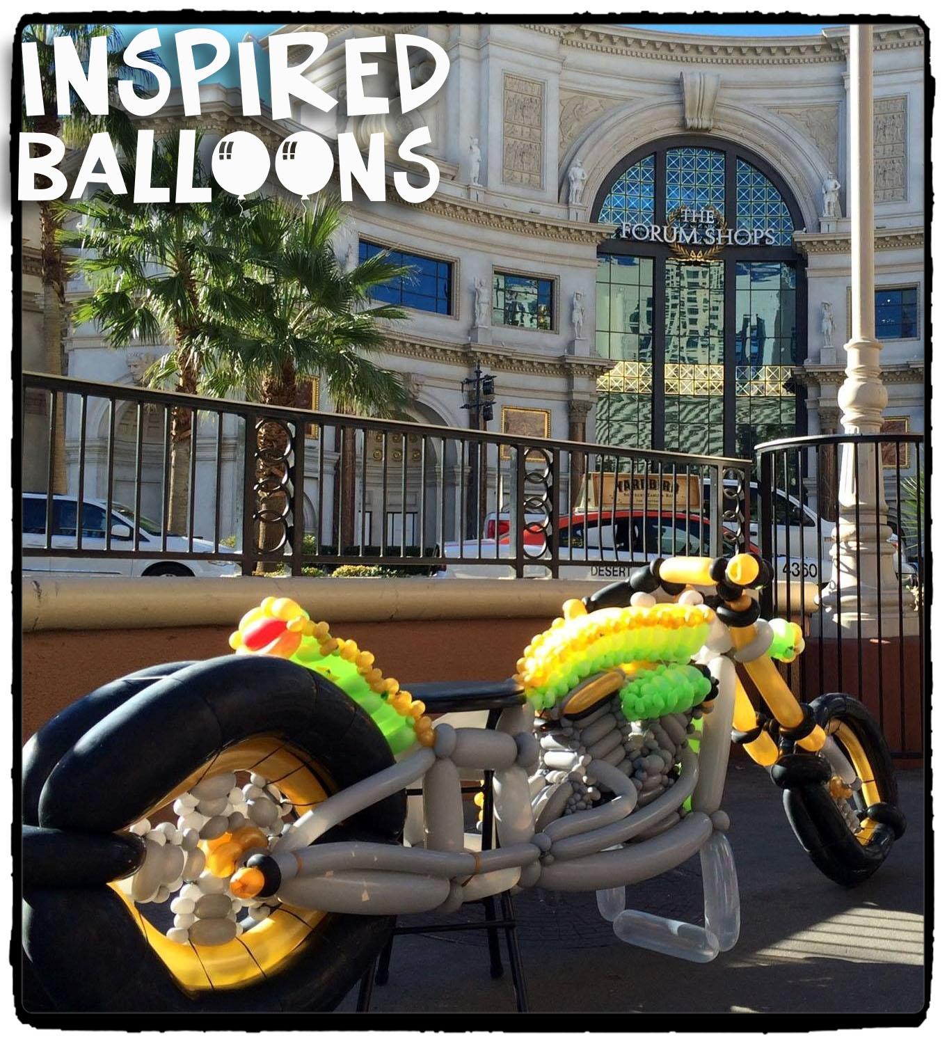 Twist & Shout Large Motocycle Build 2015