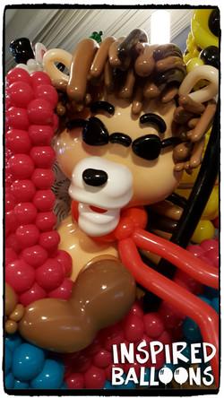 Lion Balloon Sculpture