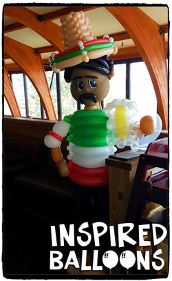 Cinco De Mayo Balloon Art