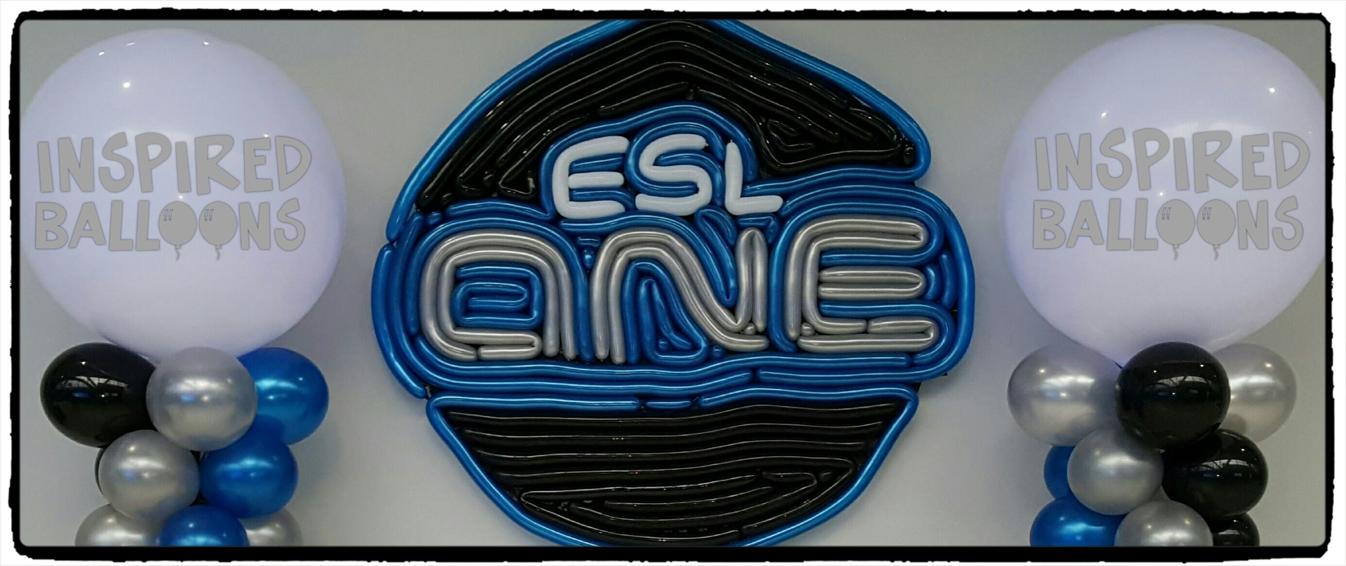 ESL ONE BALLOON LOGO