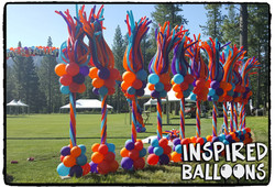 Wind Dancer Balloon Columns