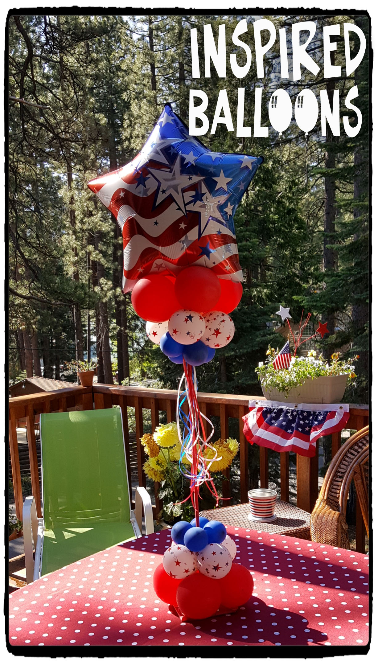 4th of July Table Display