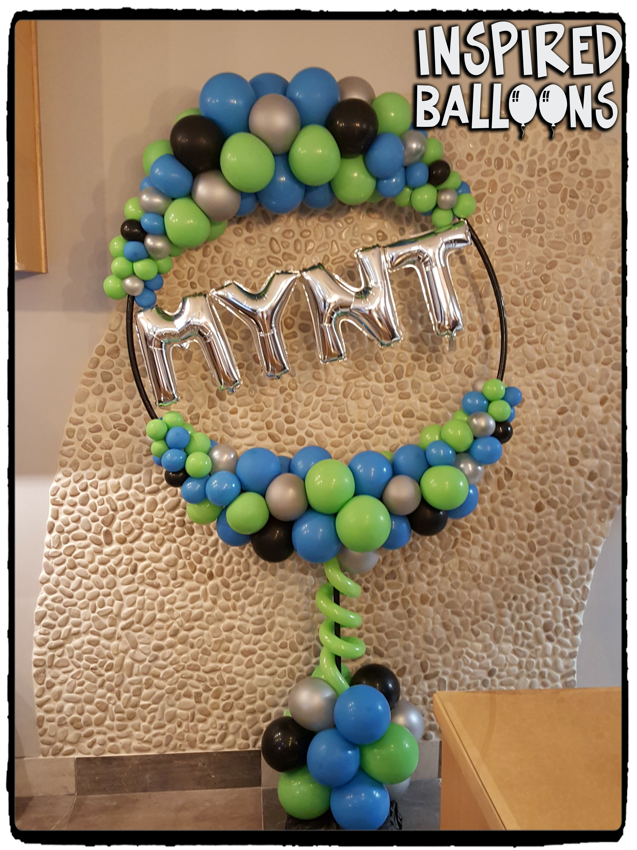 Organic Balloon Decor for MYNT