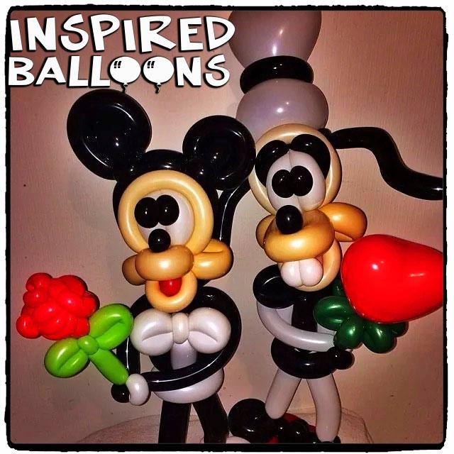 Mickey & Goofey Valentines