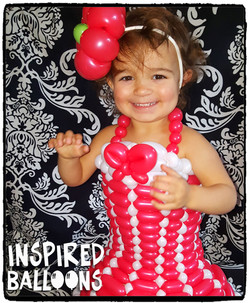 Lily's 1st Balloon Dress