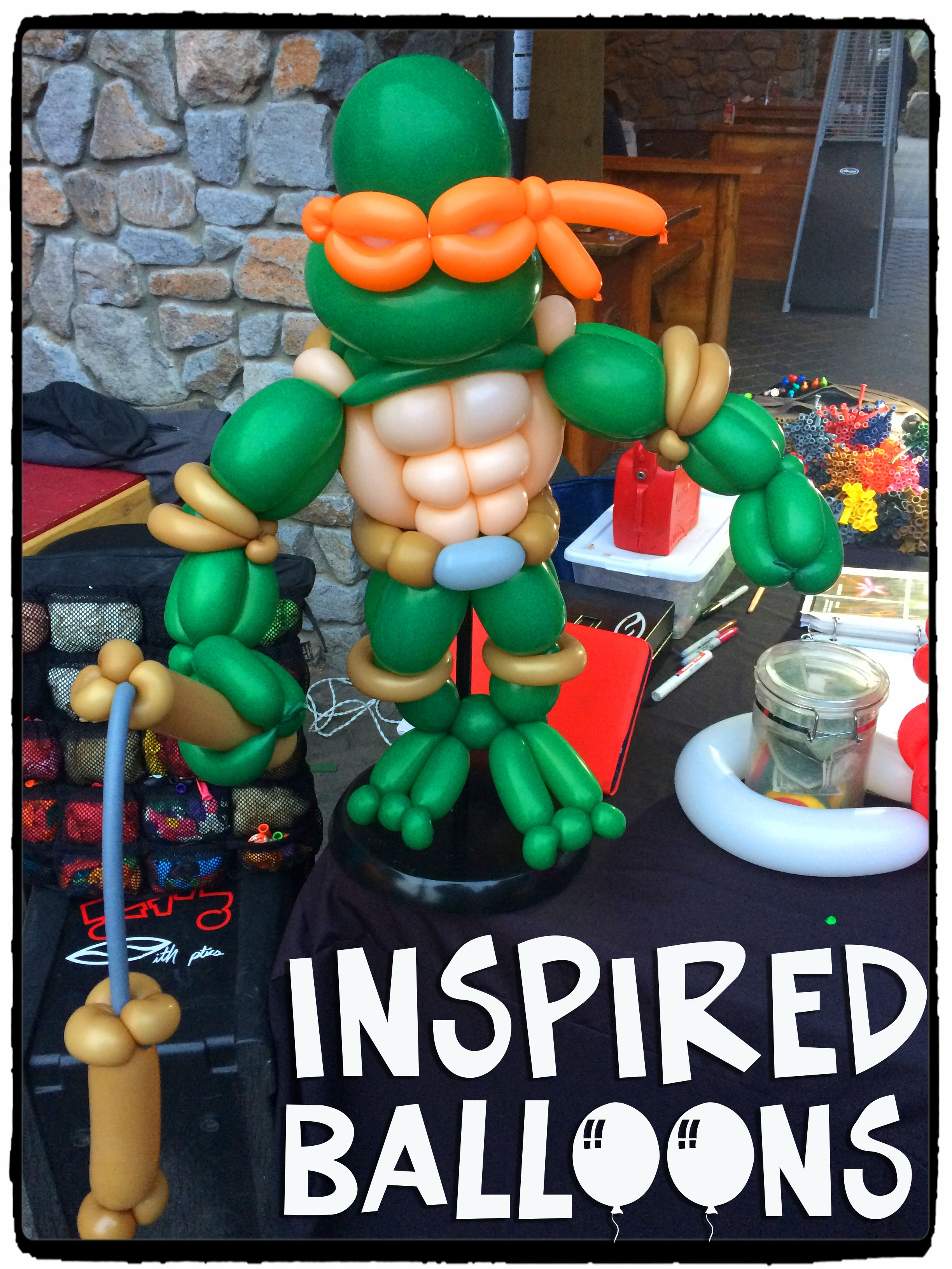 Ninja Turtle Display