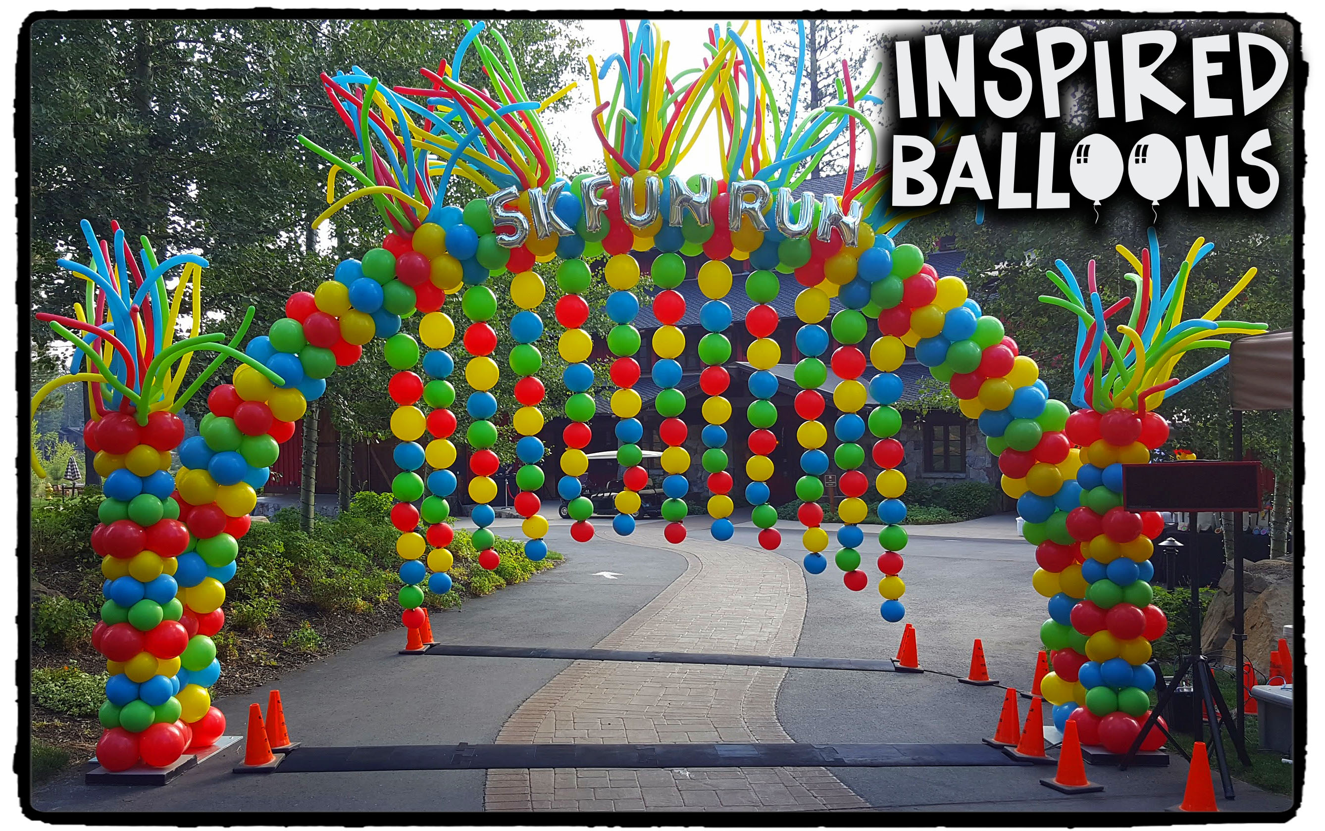 5K Fun Run Balloon Arch