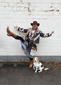 cowgirl Kostüm selbst nähen für Kaneval