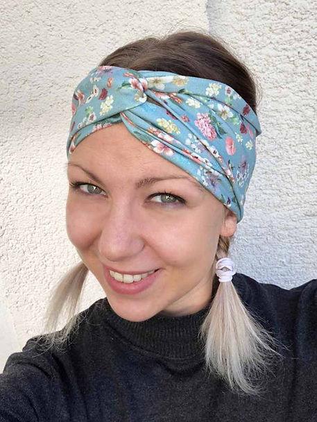 Bandeau Turban Stirnband aus Jersey aus der KomMode in Bergisch Gladbach, Olpe und Nümbrecht