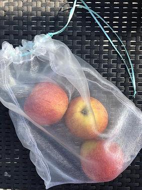 Obst und Gemüsebeutel zum Sebstnähen
