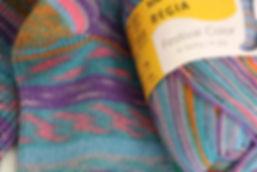 Regia Schachenmayr Sockenwolle aus der KomMode