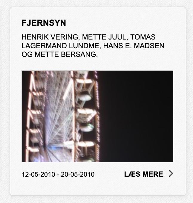 Tele Vision (Fjernsyn)