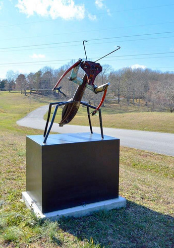 Sculpture by Marilee Hall, David Fricke