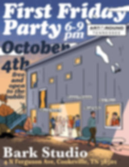 First Friday Party October