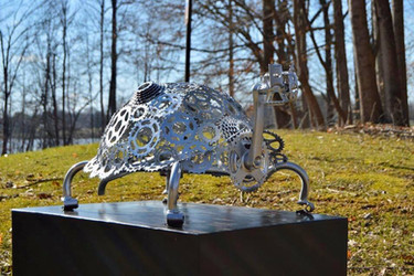 sculpture by David Fricke