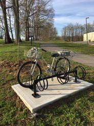 Tommy Thomas interactive percussive bike rack
