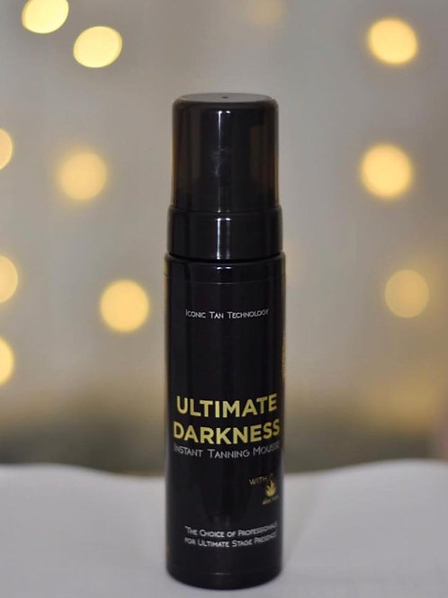 "Iconic Tan ""Ultimate Darkness"" Instant Wash Off Tanning Mousse"