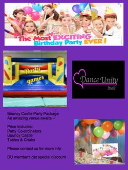 Bouncy Castle Party