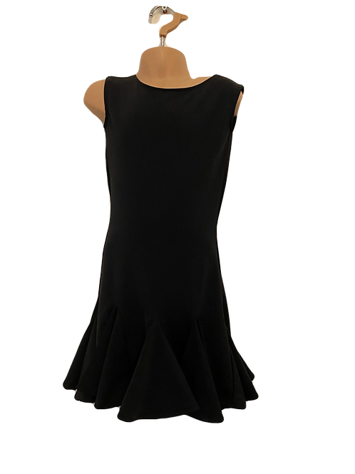 Black practice wear dress