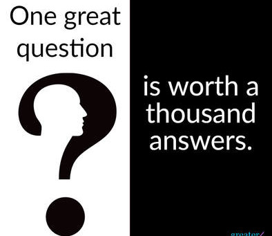 One Great Question