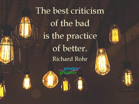 The Best Criticism