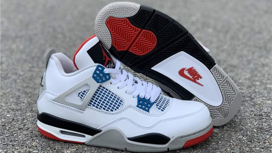 "Air Jordan 4 ""What the 4"" Shoes"