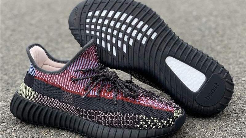 "Adidas Yeezy 350 V2 ""Yecheil"" Reflective Shoes"