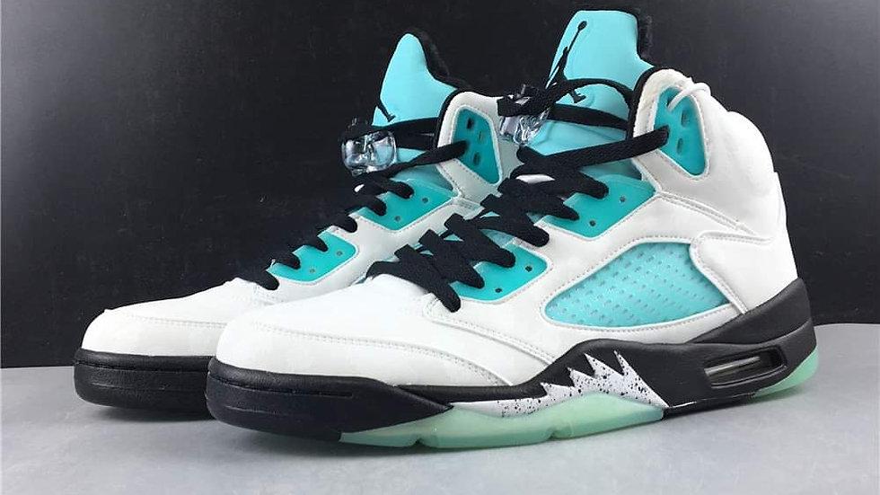 "Air Jordan 5 ""Island Green"" Shoes"