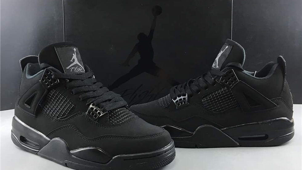 "Air Jordan 4 ""Black Cat"" Shoes"
