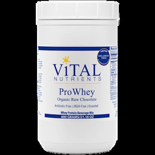 Vital Nutrients Pro Whey  Organic Raw Chocolate