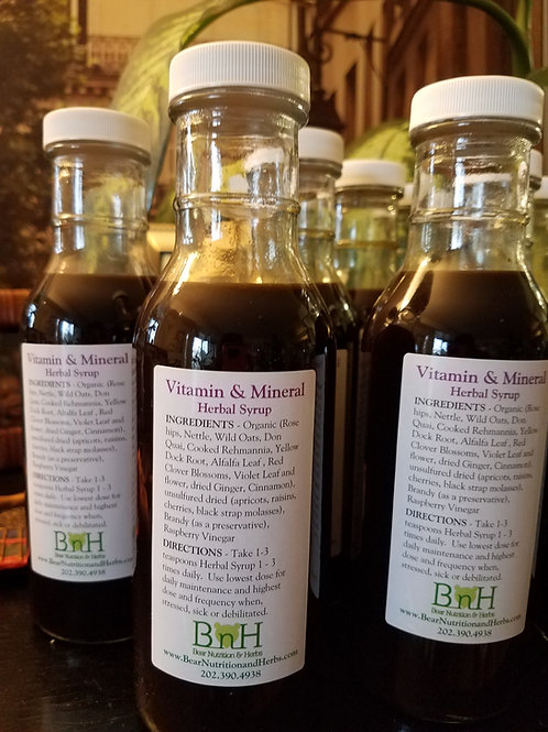 BNH - Vitamin and Mineral Herbal Syrup (2 Bottle Set)