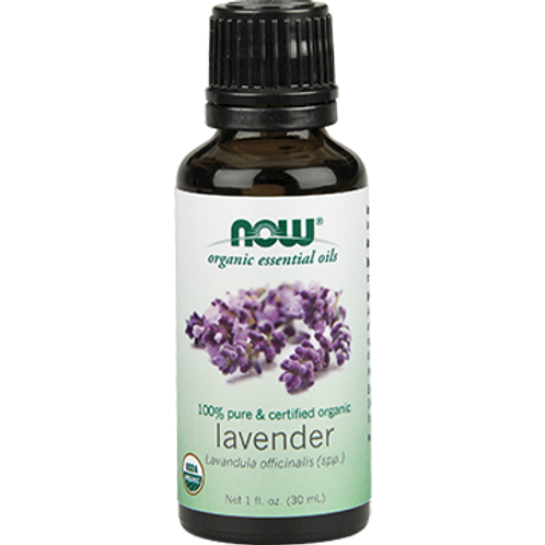 Lavender Organic - Essential Oil - NOW