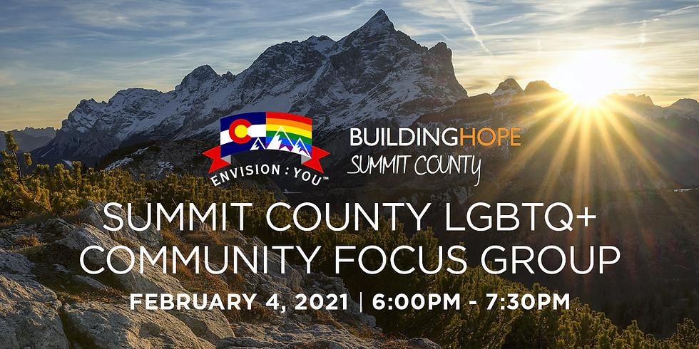 Summit County LGBTQ+ Community Focus Group