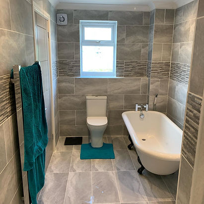 Bath Toilet Tiling