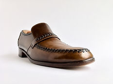 Barker Loafer - After Polish - Angle View