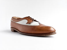 Allen Edmonds Amherst - Before Polish - Angle View