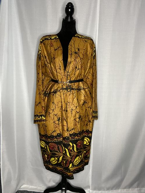 Oversized Kimono | Golden Goddess